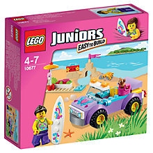 Buy LEGO Juniors Beach Trip Online at johnlewis.com