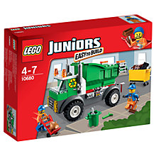 Buy LEGO Juniors Rubbish Lorry Online at johnlewis.com