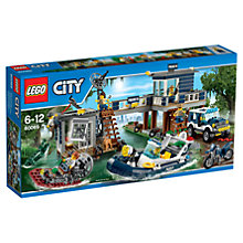 Buy LEGO City Swamp Police Station Online at johnlewis.com