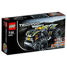 Buy LEGO Technic Quad Bike Online at johnlewis.com