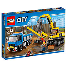 Buy LEGO City Excavator And Truck Online at johnlewis.com