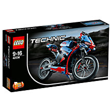 Buy LEGO Technic Street Motorcycle Online at johnlewis.com