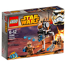 Buy LEGO Star Wars 75089 Geonosis Troopers Online at johnlewis.com