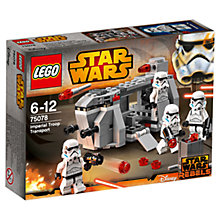 Buy LEGO Star Wars 75078 Rebels Imperial Troop Transport Online at johnlewis.com