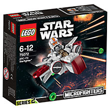 Buy LEGO Star Wars ARC-170 Starfighter Online at johnlewis.com