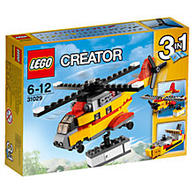 Buy LEGO Creator 31029 Cargo Heli Online at johnlewis.com