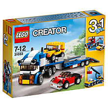 Buy LEGO Creator Vehicle Transporter Online at johnlewis.com