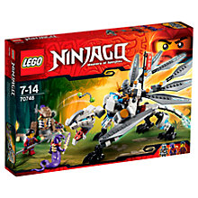 Buy LEGO Ninjago Titanium Dragon Online at johnlewis.com