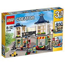 Buy LEGO Creator Toy & Grocery Shop Online at johnlewis.com