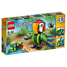 Buy LEGO Creator 31031 Rainforest Animals Online at johnlewis.com