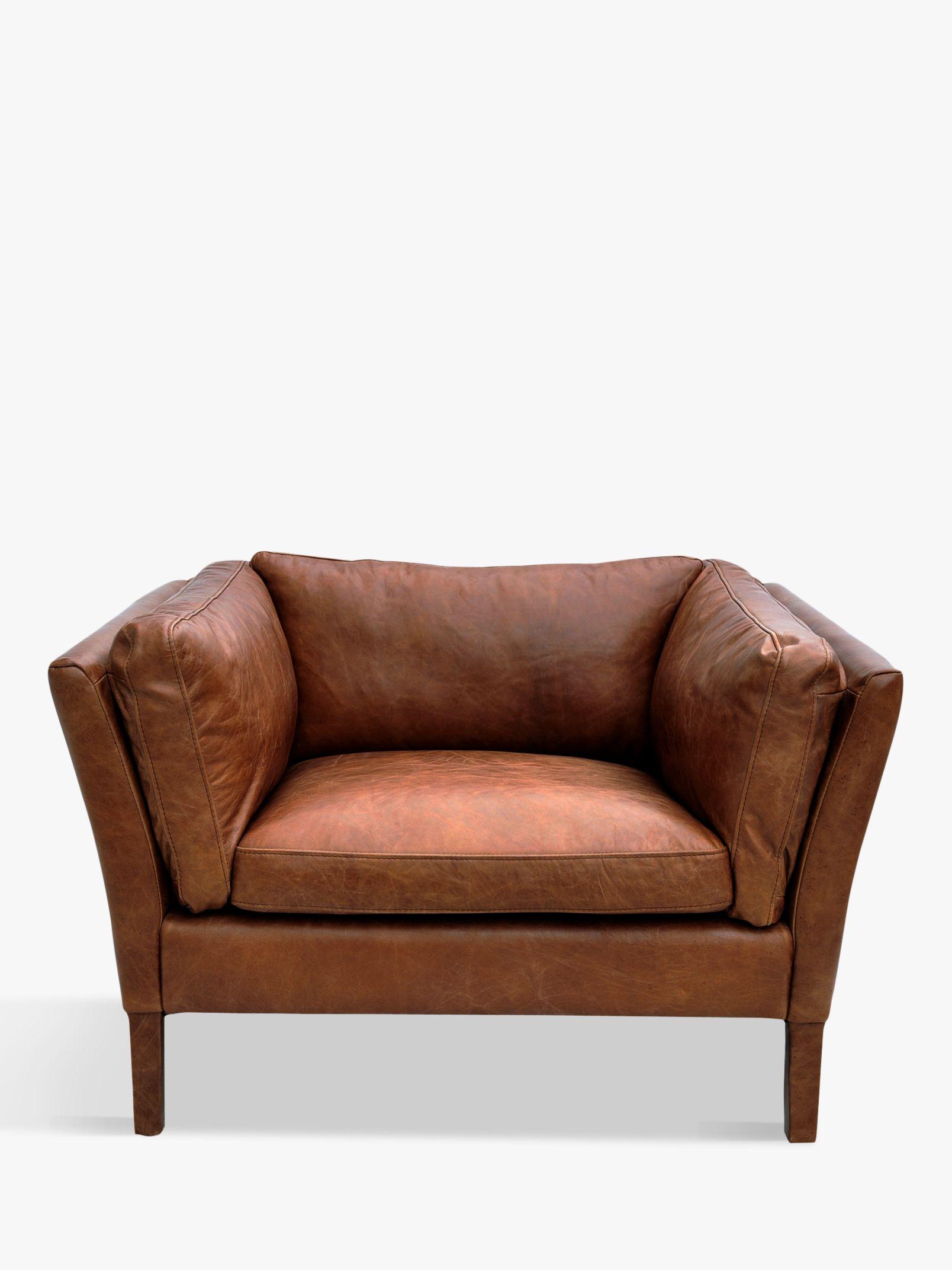 Halo Halo Groucho Aniline Leather Armchair