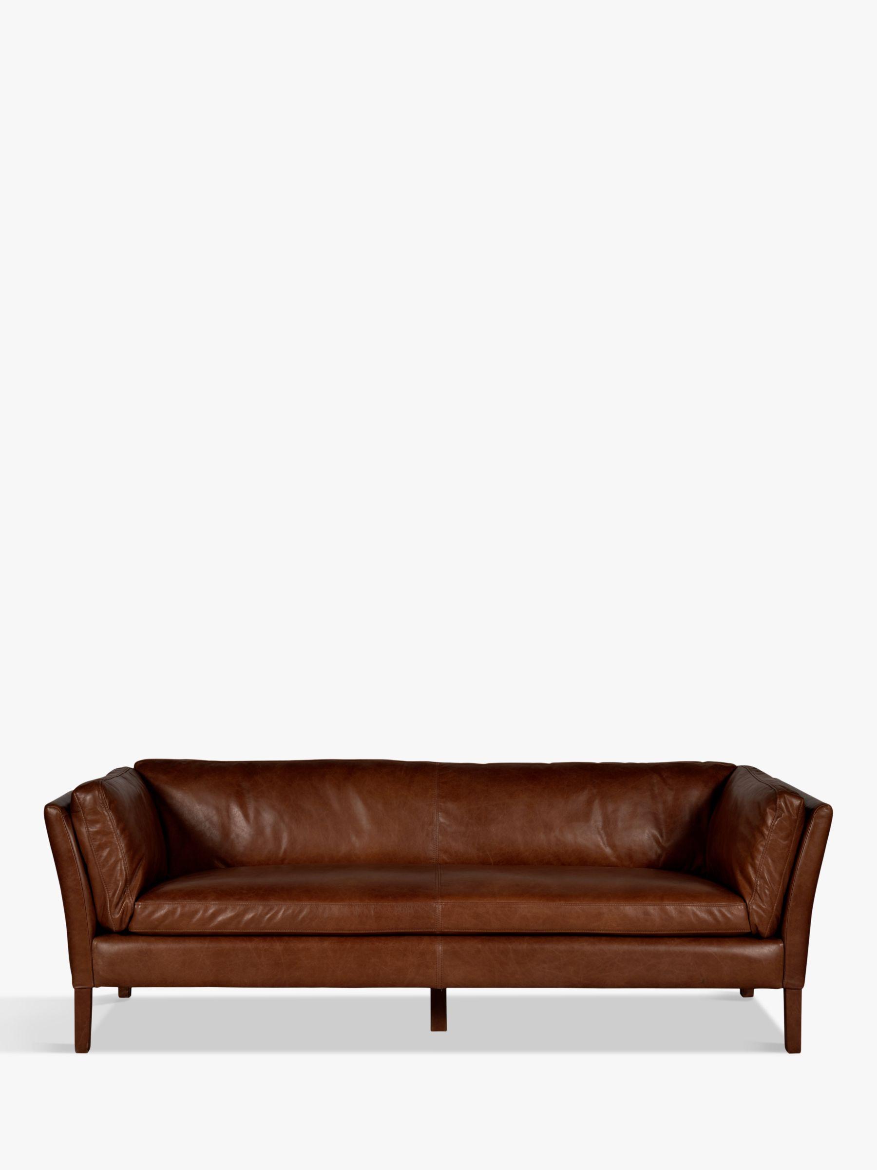 Halo Halo Groucho Large Aniline Leather Sofa