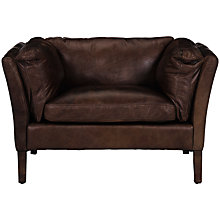 Buy Halo Groucho Leather Armchair, Matador Neuz Online at johnlewis.com