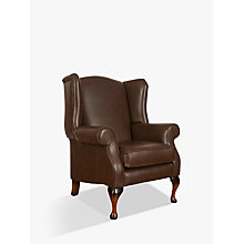 Buy Parker Knoll Oberon Leather Chair Online at johnlewis.com