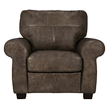 Buy John Lewis Hampsted Armchair, High Plain Bronx Online at johnlewis.com