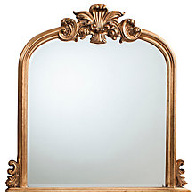 Buy Heversham Mirror, Gold, 119 x 116cm Online at johnlewis.com