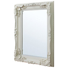 Buy Carved Louis Mirror, Cream, 120 x 89.5cm Online at johnlewis.com