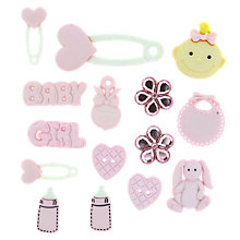 Buy John Lewis Baby Girl Paper Toppers Online at johnlewis.com
