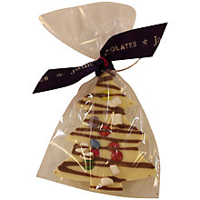 Buy James Sweetie Christmas Tree, White, 35g Online at johnlewis.com
