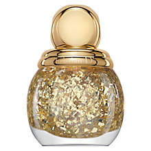 Buy Dior Diorific Vernis, 001 Golden Shock Online at johnlewis.com