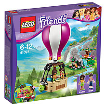 Buy LEGO Friends Hot Air Balloon Bundle with Free Activity Book Online at johnlewis.com