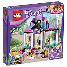 Buy LEGO Friends Heartlake Hair Salon Bundle with Free Activity Book Online at johnlewis.com