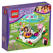 Buy LEGO Friends Olivia's Garden Pool Online at johnlewis.com