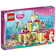 Buy LEGO Disney Princess Ariel Undersea Palace Online at johnlewis.com