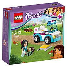 Buy LEGO Friends Vet Ambulance Online at johnlewis.com