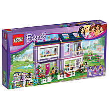 Buy LEGO Friends Emma's House Bundle with Free Activity Book Online at johnlewis.com