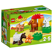 Buy LEGO DUPLO Farm Animals Online at johnlewis.com