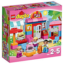 Buy LEGO DUPLO Cafe Bundle with Free Duplo Snail Online at johnlewis.com