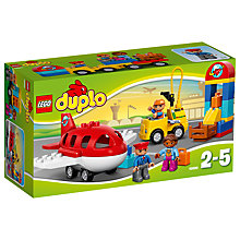 Buy LEGO DUPLO Airport Bundle With Free Duplo Snail Online at johnlewis.com