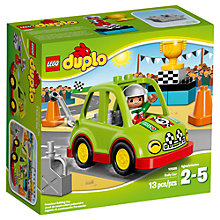 Buy LEGO DUPLO Rally Car Online at johnlewis.com