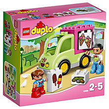Buy LEGO DUPLO Ice Cream Van Online at johnlewis.com