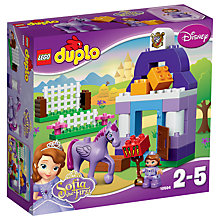Buy LEGO DUPLO Disney Princess Sofia The First Stable Online at johnlewis.com