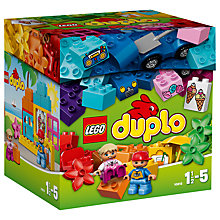 Buy LEGO DUPLO Creative Building Box Online at johnlewis.com