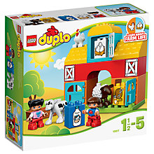 Buy LEGO DUPLO 10617 My First Farm Online at johnlewis.com