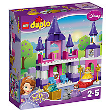 Buy LEGO DUPLO Disney Princess Sofia The First Castle Bundle with Free Duplo Snail Online at johnlewis.com