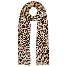Buy Fay Et Fille Animal Skin Scarf Online at johnlewis.com