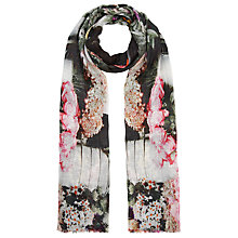 Buy Fay Et Fille Flower Market Scarf, Pink Online at johnlewis.com