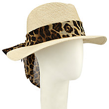 Buy John Lewis Fedora Hat Fedora With Tie Online at johnlewis.com