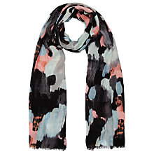 Buy Kin by John Lewis Brush Stroke Scarf, Multi Online at johnlewis.com