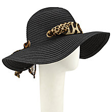 Buy John Lewis Floppy Animal Tie Casual Hat, Black Online at johnlewis.com