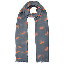 Buy John Lewis Dragonfly Scarf, Blue Online at johnlewis.com