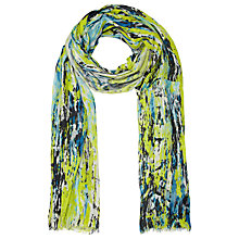 Buy Kin by John Lewis Neon Waterfall Modal Scarf, Multi Online at johnlewis.com