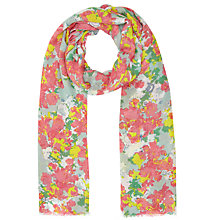 Buy John Lewis Sara Floral Scarf, Multi Online at johnlewis.com