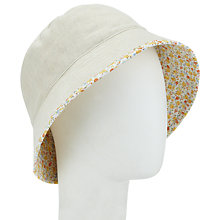 Buy John Lewis Reversible Bucket Hat, Floral Online at johnlewis.com