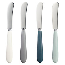 Buy John Lewis Islay Butter Knives, Set of 4, Assorted Online at johnlewis.com