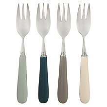 Buy John Lewis Croft Collection Islay Pastry Forks, Set of 4, Assorted Online at johnlewis.com